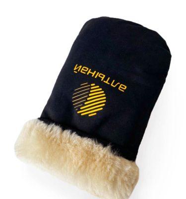 рабочие рукавицы с логотипом